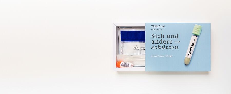 PCR-Selbsttest von TRINICUM diagnostics