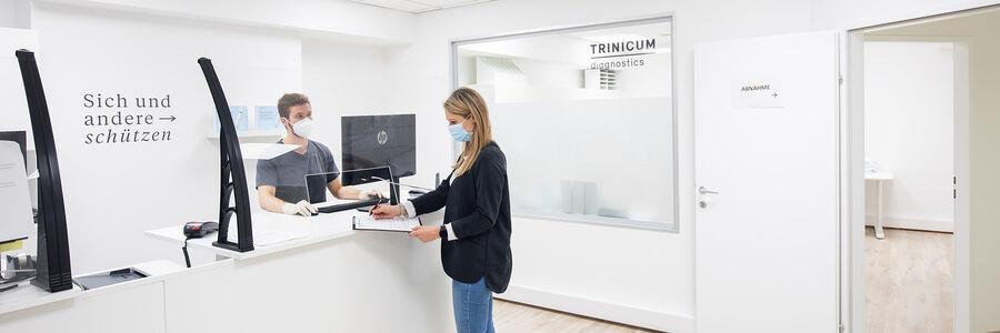Einfach und schnell, Corona-Test im TRINICUM diagnostics
