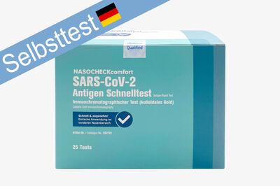 NASOCHECKcomfort SARS-CoV-2 - 25 Antigen Tests