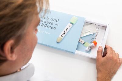 Corona PCR Selbsttest für Zuhause